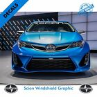 Scion Windshield Vinyl Decal Sticker Vehicle Graphics |38 on eBay