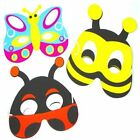insect foam masks bee butterfly and ladybird