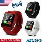 U8s Bluetooth Smart Wrist Watch Phone Mate Fitness For Android Samsung iOS