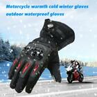 Black Pro-biker Motorcycle Gloves Moto Warm Protective Rider Gloves Winter E4Q7