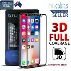GENUINE NUGLAS 3D FULL Cover Tempered Glass Screen Protector for Apple iPhone X