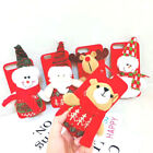 Handmade Back Soft Phone Cover with Lovely Cartoon Plush Christmas Santa Claus
