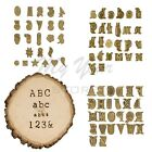 Wood Burning Kit Alphabet Pyrography Stamps Hotstamp Set Numbers Personalization