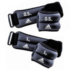 Adidas Ankle Wrist Weights Resistance Strength Training - 0.5kg & 1kg Pairs