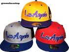 LOS ANGELES SNAPBACK CAP, ETHOS FLAT PEAK HATS, LA FITTED BASEBALL BLING HIP HOP