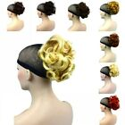 Short Black Ponytail Extension Curly Clip on Hair Piece Beautiful Color choose