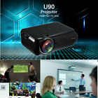 7000LM 3D Mini LED Projector HD 1080P Home Theater VGA USB SD HDMI Proyector