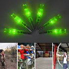 6/12PC 6.2mm Automatically Compound Bow LED Lighted Arrow Nock For Night Hunting