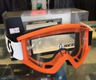 SCOTT ADULTS SAFETY GOGGLES MX MOTOCROSS ATV OFFROAD EYE SAFETY COLOURS