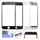 Front Glass Lens Touch Screen Cover + Frame Bezel Replacement For iPhone 7 Plus