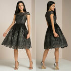 Women Lace Prom Floral Formal Evening Cocktail Party Bridesmaids Ball Gown Dress