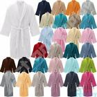 New Mens Luxury Cotton Toweling Bathrobe Gown