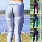Sport Womens Compression Fitness Leggings Running Yoga Gym Pants Workout Wear HX