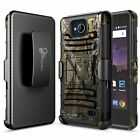 For ZTE Majesty Pro/Majesty Pro Plus/Tempo Rugged Belt Clip Holster Case Cover