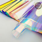 fabric clear - 37'' PVC Holographic Clear Film Mirrored Foil Holographic Vinyl Graphic Fabric