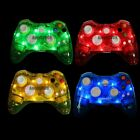 Glow Light Wireless/USB Wired Controller Gamepad Joystick For Xbox 360 & PC