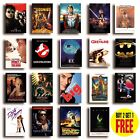 CLASSIC 80s MOVIE POSTERS A4/A3 Size Photo Print Film Cinema Wall Decor Fan Art £7.99 GBP