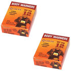 Body Warmers Large Pads with Adhesive Backing Gives 12 Hours Warm