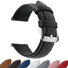 Quick Release Fullmosa Watch Band 18/20/22/24mm  Genuine Leather Wrist Strap