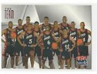 1996 SKYBOX TEXACO USA BASKETBALL BASE SERIES SINGLES #'S 1-14