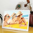 """Digital Photo Frame 15 """" Front Touch Buttons Multi-language LED Screen LOT UH"""