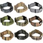 Dog Tactical Collar with Handle HEAVY DUTY Working Training Plastic Buckle Width