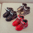 Non-slip Pop Sports Snow Boots Kids Boys Girls Casual Warm Cotton Shoes Sneakers