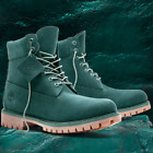 TIMBERLAND GREEN JADE WATERBUCK 6 PREMIUM MENS LIMITED COMFY BOOTS A1P5X301