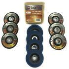 "10 Pack of Flap Discs 4.5"" Type 29 T29 Abrasive Grinding Cutting Wheel Grit"