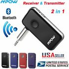 Mpow Bluetooth Receiver & Transmitter 2 in 1 Wireless Music Adapter Home/Car Lot