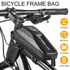 Waterproof EVA Bike Bag Bicycle Top Tube Front Frame Phone Holder Case Cycling