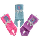 NEW Girls Mermaid Tail Blanket Soft Touch Fleece Pink,Purple,Blue ONE SIZE