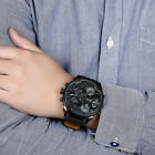 Watches Mens Luxury Automatic Mechanical Leather Band Casual Skeleton Sport Army
