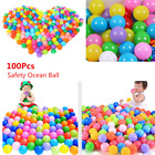 100Pcs Soft Plastic Ocean Balls Baby Kid Children Toy Swim Pool Sand Pit Game