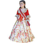 Kids Floral Countess Costume Fancy Dress 3-11 Years Ball Gown Princess Amscan