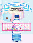 NUM NOMS GIRLS BIRTHDAY PARTY PERSONALISED WATER BOTTLE LABEL EASY PEEL & STICK