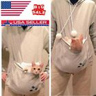 Unisex Cat Ear Big Kangaroo Pouch Hoodie Long Sleeve Pet Carrier Sweatshirt cute