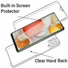 360° Front and Back Fully Body TPU Silicon Touch Case Cover For all Apple iphone