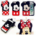 3D Cartoon Disney Minnie Soft Silicone Gel Rubber Case Cover Skin For Samsung S8