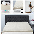 egg crate mattress pads - 3 in. Memory Foam Mattress Topper Sleep Convoluted Pad Bed Cover Egg Crate Room