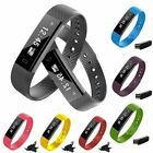 Sport Bracelet Wristband Watch Pedometer Monitor Blood Pressure Fitness Tracker