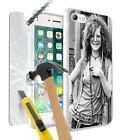 Singer Janis Joplin Design Hard Phone Case Cover + Glass for Various Models 0030