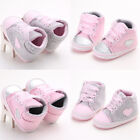 New Kids Baby Girls Shoes Infant Toddler Cotton Crib Shoes S