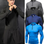 Men's Compression Tops Running Training Sportswear Dri fit Athletic Long Pants
