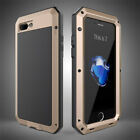 Waterproof Shockproof Aluminum Gorilla Glass Metal Case Cover For Apple iPhone <br/> New iPhone X Arrival*SAME DAY RM 1ST POST*LIMITED OFFER
