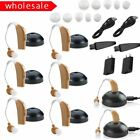 hearing aids amplifiers - LOT 2-20 Digital Hearing Aids rechargeable Behind the Ear BTE Sound Amplifier US