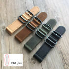18 20 22 24mm Handmade Retro Genuine Leather Watch Bands Wrist Strap For Fossil image