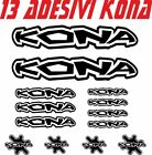 KIT 13 ADESIVI KONA BICI STICKERS KONA BIKE cod.2