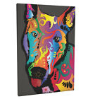English Bull Terrier Box Canvas and Poster Print (119)