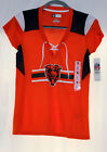 CHICAGO BEARS WOMANS NFL TEAM APPAREL SPORTS SHIRT JERSEY S M L XL 2XL LADIES